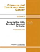 Commercial Motor Vehicle Carrier Safety Management Certification