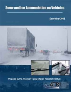 Snow and Ice Accumulation on Vehicles Report Cover