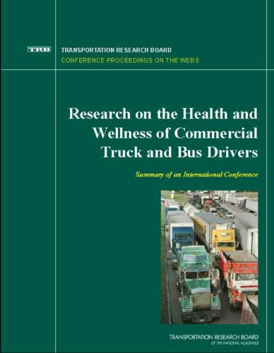 Health and Wellness of Commercial Truck and Bus Drivers cover