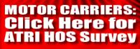 ATRI Seeks Motor Carrier Input on HOS Impacts