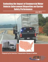 Evaluating the Impact of Commercial Motor Vehicle Enforcement Disparities on Carrier Safety Performance