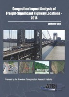 Congestion Impact Analysis of Freight-Significant Highway Locations 2014 - Full Report Request