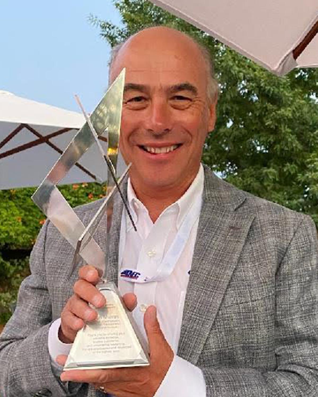 Dan Murray Receives Halladay Award