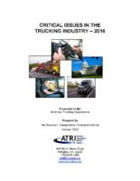Mandated Use of Electronic Logging Devices Tops the List of Concerns in Annual Trucking Industry Survey