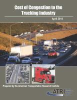 Trucking Industry Sees $9.2 Billion in Congestion Costs for 2013