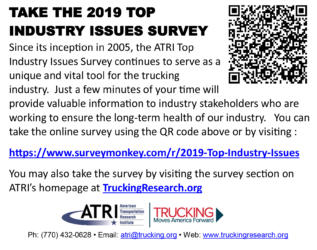 Trucking Industry Asked to Rank Top Concerns
