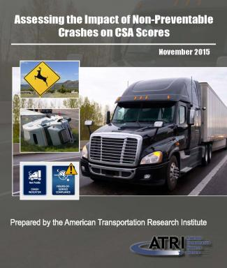 New ATRI Research Quantifies Impact of Non-Preventable Crashes on CSA Scores