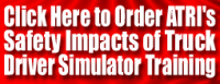 ATRI Research Examines Safety Impacts of Driver Simulator Training
