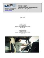 Commercial Driver Perspectives on Obstructive Sleep Apnea