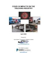 Joint Research Confirms COVID-19 Impact on Trucking