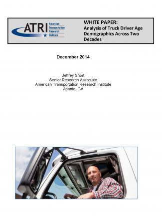 ATRI Research Documents Alarming Demographic Trends For the Trucking Industry