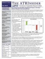 ATRInsider - July 2013 Vol. 9 Issue 1