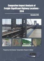 ATRI Releases List of Top Truck Freight Congestion Locations