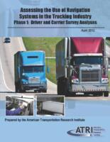 New Research Assesses Navigation System Use in the Trucking Industry