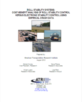 Roll Stability Systems: Cost Benefit Analysis of Roll Stability Control Versus Electronic Stability Control Using Empirical Crash Data