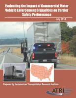 ATRI Releases Study Evaluating the Impact of CMV Enforcement Disparities on Carrier Safety Performance